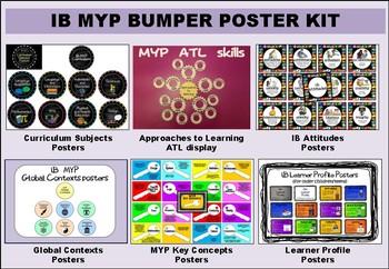 IB MYP Bumper Poster Kit