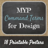 IB MYP Command Terms Presentation and Posters