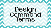 IB MYP Command Terms for Design Posters