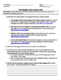 IB MYP Design Cycle in Real Life worksheet