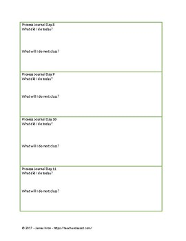 IB MYP Design Process Journal - Editable - PLTW STEM STEAM Journal
