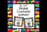 IB MYP Global Contexts Posters World Flags Version