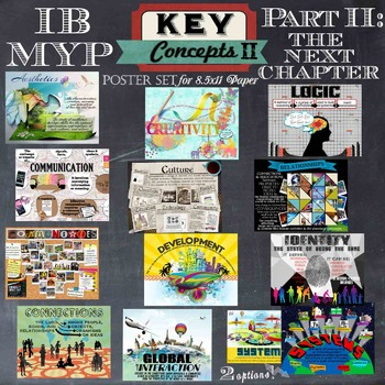 IB MYP Key Concepts Part 2 - The Next Chapter