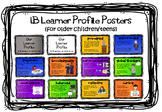 IB MYP (or older PYP) Learner Profile Posters