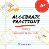 Math Lesson Algebraic Fractions
