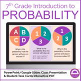Simple Probability Lesson and Activity