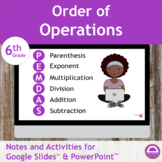 Order of Operations Notes and Activities