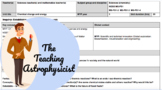 IB MYP NGSS unit planner - Chemical change and energy