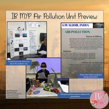IB MYP Science- Air Pollution