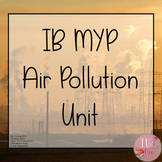 IB MYP Science- Air Pollution