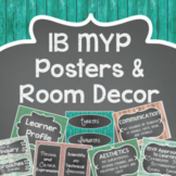 IB MYP Posters for Unit of Inquiry, Global Contexts, & More