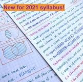 IB Math Analysis & Approaches SL Notes  - Unit 4 Stats/Pro