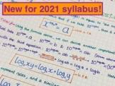 IB Math Analysis & Approaches SL Notes  - Unit 1 Algebra