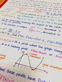 IB Math HL - Whole Course + Calculus Option - Notes