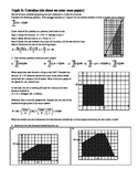 IB Math SL Topic 6 Overview: Calculus with answer key (Editable)