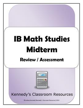 IB Math Studies Midterm (Practice or Assessment)