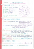 IB Math Studies SL - Topic 1 - Number & Algebra - Notes