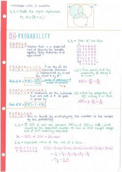 IB Math Studies SL - Topic 3 - Logic, Sets & Probability - Notes