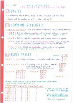 Maths Ib Sl Worksheets & Teaching Resources | Teachers Pay Teachers