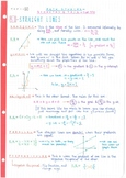IB Math Studies SL - Topic 5 - Geometry & Trigonometry - Notes