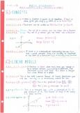 IB Math Studies SL - Topic 6 - Mathematical Models (Functi