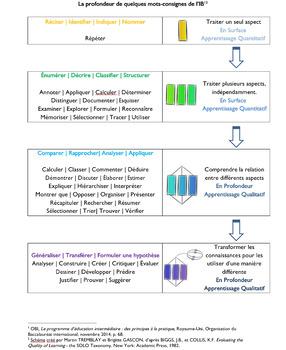 IB Mots-Consignes en profondeur (taxonomie) SOLO