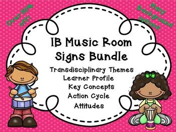 IB Music Classroom Bundle!