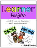IB Neon Learner Profiles (Kid-Friendly)