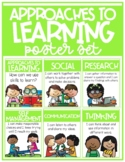 IB PYP Approaches to Learning Poster Set (Transdisciplinary Skills)