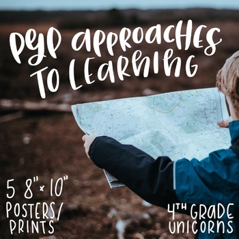 IB PYP Approaches to Learning Posters / Prints