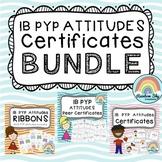 IB PYP Atitudes Certificate - BUNDLE