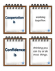 IB PYP Attitude Cards 2 sets