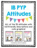 IB PYP Attitude Posters