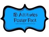 IB PYP Attitudes Poster Pack