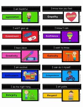 IB PYP Attitudes Stickers Classroom Management Rewards