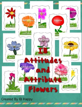 IB PYP Attitudes and Attributes Bulletin Board