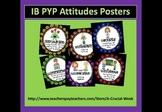 IB PYP Attitudes Posters
