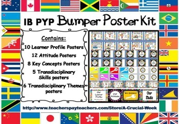 IB PYP Bumper Poster Kit CUSTOMER SPECIAL REQUEST