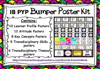 IB PYP Bumper Poster Kit