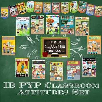 IB PYP Classroom Attitudes Set for A4 Paper