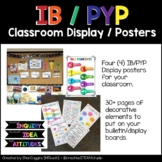 IB PYP Classroom Display Posters Bulletin Board Decoration