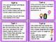 IB PYP Communication Skills Task Cards Activity for Growth Mindset