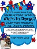 IB PYP Complete Unit of Government Structures: Civics, Cit
