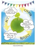 IB PYP Earth Action Cycle Poster US Paper