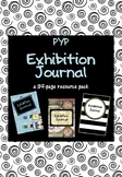 IB PYP Exhibition Journal Pack
