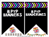Free banners English Enhanced PYP IB banderines gratis español PEP