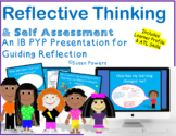 IB PYP Guided Reflection & Self Assessment Distance Learning