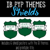 IB PYP Interdisciplinary Themes Posters and Title • Leafy