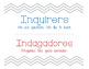 IB PYP Learner Profile 2014 - English/Spanish Chevron