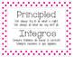 IB PYP Learner Profile 2014 - English/Spanish Polka Dots